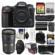 Nikon D500 Wi-Fi 4K Digital SLR Camera Body with 24-70mm f/2.8G Lens + 64GB Card + Backpack + Flash + Battery & Charger + Grip + Kit