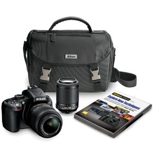 Nikon D5100 16 Megapixel Digital SLR and Lens Kit 2