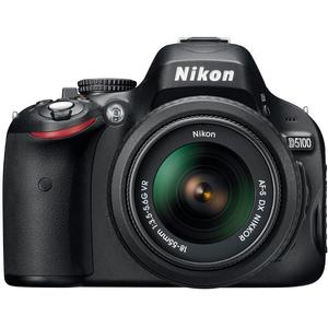 Nikon D5100 Digital SLR Camera &amp; 18-55mm G VR DX AF-S Zoom Lens - Refurbished includes Full 1 Year Warranty
