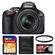 Nikon D5100 Digital SLR Camera & 18-55mm G VR DX AF-S Zoom Lens - Factory Refurbished with 16GB Card + Filter + Accessory Kit