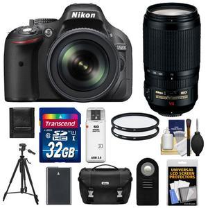 itm Nikon D Digital SLR Camera amp  mm VR DX Lens MP Black USA