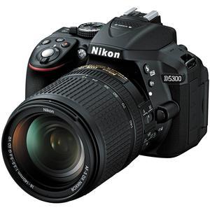 Nikon D5300 Digital SLR Camera & 18-140mm VR DX AF-S Lens (Black)