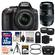Nikon D5300 Digital SLR Camera & 18-55mm VR DX II AF-S Lens (Black) - Factory Refurbished with Tamron 70-300mm Di Lens + 32GB Card + Case + Tripod + Tele/Wide Lens Kit