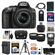 Nikon D5300 Digital SLR Camera & 18-55mm G VR DX II AF-S Zoom Lens (Black) with 64GB Card + Battery + Charger + Case + Tripod + Flash + Tele/Wide Lens Kit