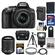 Nikon D5300 Digital SLR Camera & 18-55mm G VR DX II AF-S Zoom Lens (Black) with 55-200mm VR II Lens + 32GB Card + Battery & Charger + Case + Flash + Tripod + Kit