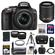 Nikon D5300 Digital SLR Camera & 18-55mm G VR DX II AF-S Zoom Lens (Black) with 55-200mm VR II Lens + 64GB Card + Battery + Case + Grip + Tele/Wide Lens Kit