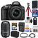 Nikon D5300 Digital SLR Camera & 18-55mm G VR DX II AF-S Zoom Lens (Black) with 55-300mm VR Lens + 32GB Card + Battery & Charger + Bag + Tripod + Kit