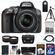 Nikon D5300 Digital SLR Camera & 18-55mm G VR DX II AF-S Zoom Lens (Grey) with 32GB Card + Battery + Case + Tripod + Tele/Wide Lens Kit