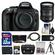 Nikon D5300 Digital SLR Camera Body (Black) with 18-200mm VR II Zoom Lens + 32GB Card + Case + Battery + Tripod + Kit