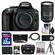 Nikon D5300 Digital SLR Camera Body (Black) with 18-300mm VR Zoom Lens + 32GB Card + Case + Battery + Tripod + Remote Kit