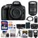 Nikon D5300 Digital SLR Camera Body (Black) with 18-300mm VR Zoom Lens + 64GB Card + Case + Flash + Battery & Charger + Tripod Kit