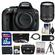 Nikon D5300 Digital SLR Camera Body (Black) with 18-140mm VR Zoom Lens + 32GB Card + Case + Battery + Tripod + Kit