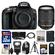 Nikon D5300 Digital SLR Camera Body (Black) with 18-140mm VR Zoom Lens + 32GB Card + Backpack + Flash + Battery + Tripod Kit