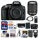 Nikon D5300 Digital SLR Camera Body (Black) with 18-140mm VR Zoom Lens + 64GB Card + Case + Flash + Battery & Charger + Tripod Kit