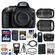Nikon D5300 Digital SLR Camera Body (Black) with 18-140mm VR & 55-300mm VR Zoom Lens + 64GB Card + Case + Flash Kit