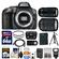 Nikon D5300 Digital SLR Camera Body (Grey) with 18-140mm & 70-300mm VR Lens + 64GB Card + Case + Flash + Battery/Charger + Tripod Kit