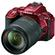 Nikon D5500 Wi-Fi Digital SLR Camera & 18-140mm VR DX AF-S Lens (Red)