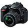 Nikon D5500 Wi-Fi Digital SLR Camera & 18-55mm VR DX II Lens (Black) - Factory Refurbished