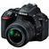 Nikon D5500 Wi-Fi Digital SLR Camera & 18-55mm VR DX II Lens (Black) - Factory Refurbished