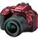 Nikon D5500 Wi-Fi Digital SLR Camera & 18-55mm G VR DX II AF-S Zoom Lens (Red)