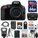 Nikon D5500 Wi-Fi Digital SLR Camera Body (Black) with 64GB Card + Case + Battery & Charger + Flash + Tripod + Kit