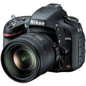 Nikon D610 Digital SLR Camera Body - Factory Refurbished with 24-85mm f/3.5-4.5G VR ED AF-S Nikkor-Zoom Lens