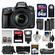 Nikon D610 Digital SLR Camera with 28-300mm VR AF-S Zoom Lens, Shoulder Bag & 32GB Card with 64GB Card + Flash + Grip + 2 Batteries & Charger + Filters + Remote Kit