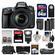 Nikon D610 Digital SLR Camera with 28-300mm VR AF-S Zoom Lens, Shoulder Bag & 32GB Card with 64GB Card + Flash + Grip + 2 Batteries & Charger + Filters + Remote Kit