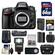 Nikon D610 Digital SLR Camera Body with 64GB Card + Case + Flash + Grip + Battery & Charger + GPS Adapter + Remote Kit