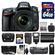 Nikon D610 Digital SLR Camera Body with 24-70mm f/2.8 AF-S Lens + 64GB Card + Case + Flash + Grip + Battery & Charger Kit