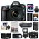 Nikon D610 Digital SLR Camera & 24-85mm VR AF-S Zoom Lens with 64GB Card + Case + Flash + Grip + Battery & Charger + 3 Filters + Remote Kit