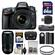 Nikon D610 Digital SLR Camera & 24-85mm VR AF-S Zoom Lens with 70-300mm VR AF-S Lens + 64GB Card + Case + Grip + Battery + Filters + Remote Kit