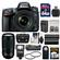 Nikon D610 Digital SLR Camera & 24-85mm VR AF-S Zoom Lens with 70-300mm VR AF-S Lens + 64GB Card + Case + Flash + Grip + Battery & Charger Kit