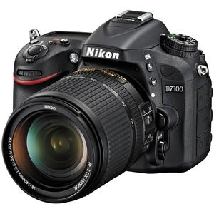 Nikon D7100 Digital SLR Camera & 18-140mm VR DX Lens (Black)