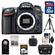 Nikon D7100 Digital SLR Camera Body with 32GB Card + Case + Remote + Tripod + Accessory Kit