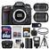 Nikon D7100 Digital SLR Camera Body with 18-140mm & 55-300mm VR Lens + 64GB Card + Case + Flash + Battery + Tripod Kit