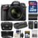 Nikon D7200 Wi-Fi Digital SLR Camera & 18-140mm VR DX Lens with 32GB Card + Case + Battery/Charger + Grip + 3 Filters + Remote + Kit