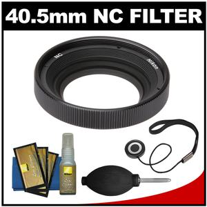 Nikon AW 40.5mm NC Neutral Color Filter with Nikon Cleaning Kit for 1 AW1 Camera & 11-27.5mm Lens