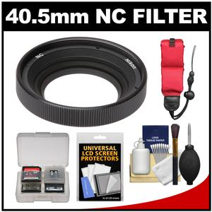 Buy Now Nikon AW 40.5mm NC Neutral Color Filter with Floating Strap + Accessory Kit for 1 AW1 Camera & 11-27.5mm Lens Before Too Late