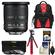Nikon 10-24mm f/3.5-4.5 G DX AF-S ED Zoom-Nikkor Lens with 3 UV/CPL/ND8 Filters + Backpack + Flex Tripod + Kit