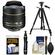 Nikon 10.5mm f/2.8G ED DX AF Fisheye-Nikkor Lens with Tripod + Kit