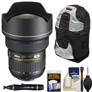 Nikon 14-24mm f-2.8G AF-S ED Zoom-Nikkor Lens with Sling Backpack + Kit
