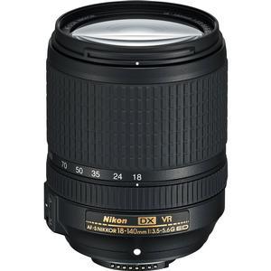 Nikon 18-140mm f-3.5-5.6G VR DX ED AF-S Nikkor-Zoom Lens