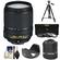 Nikon 18-140mm f/3.5-5.6G VR DX ED AF-S Nikkor-Zoom Lens with 3 UV/CPL/ND8 Filters + Hood + Lens Pouch + Tripod + Accessory Kit