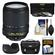 Nikon 18-140mm f/3.5-5.6G VR DX ED AF-S Nikkor-Zoom Lens with Case + 3 UV/CPL/ND8 Filters + Hood + Accessory Kit