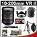 Nikon 18-200mm f/3.5-5.6G VR II DX ED AF-S Nikkor-Zoom Lens with Tripod + Accessory Kit