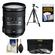 Nikon 18-200mm f/3.5-5.6G VR II DX ED AF-S Nikkor-Zoom Lens with 3 UV/FLD/CPL Filters + Tripod + Accessory Kit