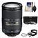 Nikon 18-300mm f/3.5-5.6G VR DX ED AF-S Nikkor-Zoom Lens with 3 (UV/ND8/CPL) Filters + Accessory Kit