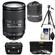 Nikon 18-300mm f/3.5-5.6G VR DX ED AF-S Nikkor-Zoom Lens with 3 (UV/ND8/CPL) Filters + Case + Tripod + Accessory Kit
