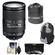 Nikon 18-300mm f/3.5-5.6G VR DX ED AF-S Nikkor-Zoom Lens with 3 (UV/ND8/CPL) Filters + Backpack + Accessory Kit